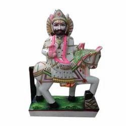 Marble Ram Dev Ji Statue