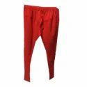 Ladies Red Cotton Leggings