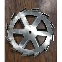 Six Slotted Impeller