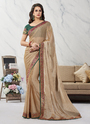 Lace Border Work Fancy Saree