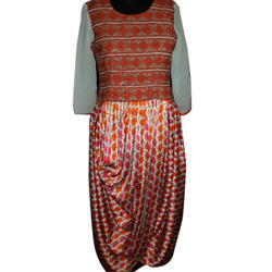 Printed Ladies Designer Party Wear Dress