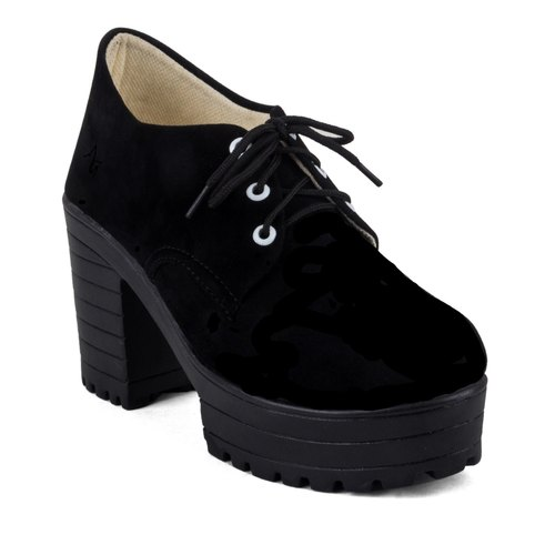 Cute Fashion Ladies Black High Heel