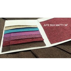 Jute Silk Matty Fabric