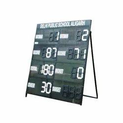Square Acrylic Cricket Score Board Medium