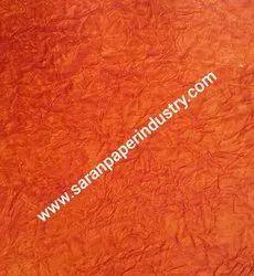 Orange Color Crush Paper