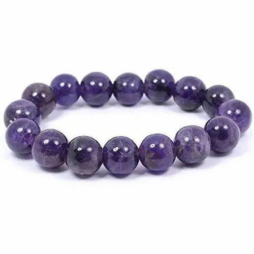 Amethyst Blue Bracelet, Size: 8mm