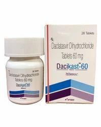 Dacikast Daclatasvir 60 mg
