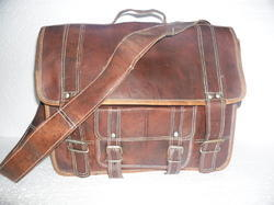 Vintage Leather Laptop Office Bag