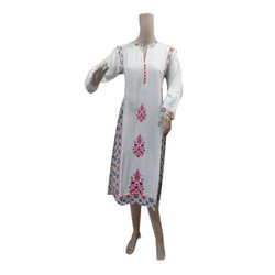 Cotton Ladies Kurti, Size: 38 & 46