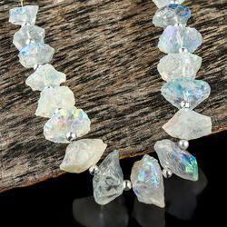 Natural Aura Crystal Solar Quartz