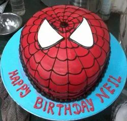 Wondrous Spider Man Kids Birthday Cake Packaging Type Carton Box Rs 1000 Personalised Birthday Cards Paralily Jamesorg