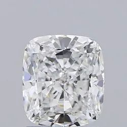 Cushion cut 1.51ct Lab Grown Diamond CVD E VVS1 IGI Certified Stone