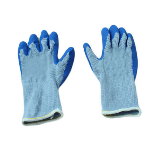 Rubber Coated Safety Glove