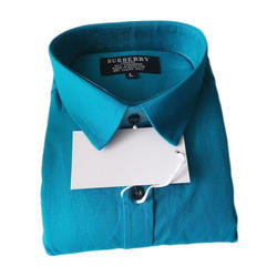 Cotton Plain Shirts, Size: L And XL