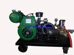 Engine Operated Hydrostatic Testing Pump