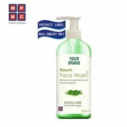 OEM or Private Label Neem Face Wash