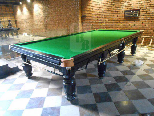Jbb Steel Cushion Snooker Billiards Table At Rs 180000