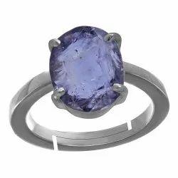 Neeli Stone Ring Silver Gemstone