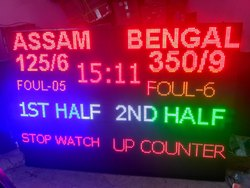 Multi Color Display Moving Message LED Matrix Display