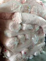Surplus cotton knitted fabrics