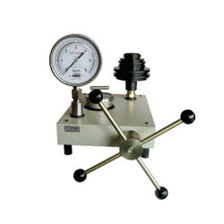 Dead Weight Pressure Gauge Tester