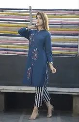 Ladies Kurti With Bottom