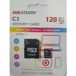128 Gb Hickvision 128gb Mobile Memory Card, for Mobile Phone, Size: MicroSD