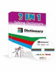 3-in-1 Hindi, Gujarati and Urdu Dictionary in Airport Road
