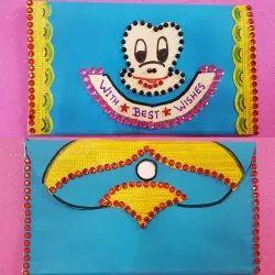 Handmade Shagun  Envlopes For Kids