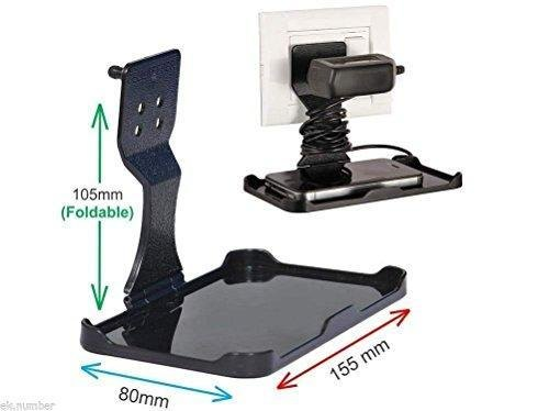 Black Plastic Mobile Charging Stand, Size: Medium