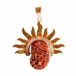 Surya Power Rudraksha Beads Pendant