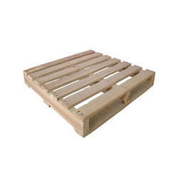Square 2 Way Wooden Packing Pallet, For Industrial, Capacity: 1 Mt