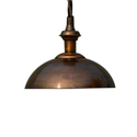 Copper Coated Pendant Ceiling Lamp