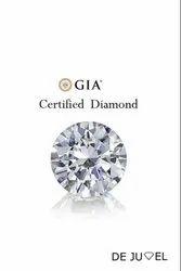 Gia Certified Round Brilliant Cut Natural Diamond