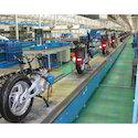Electric Slat Conveyor