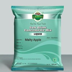 Grappy Malty Apple Soft Drink Concentrate Mix, Packaging Size: 250 G