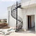 Residential Mild Steel Spiral Staircase