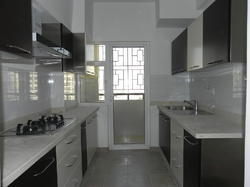 Powder Coated Stainless Steel Modular Kitchen, For Home, Material Grade: Ss 304