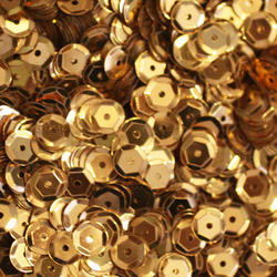 Golden Metal Sequins