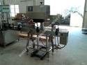 Induction Cap Sealing Machine For Glass Bottle / Jars