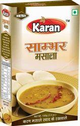 Karan Sambhar Masala, Packaging Size: 100g