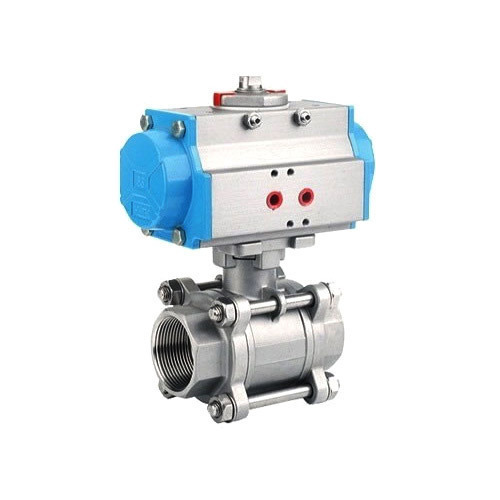 Stainless Steel Pneumatic Actuator Operated Ball Valve