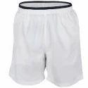White Mens Sports Shorts