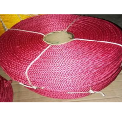 Red Polyester Rope