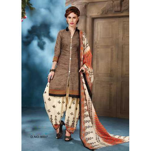 9034226c1a Cotton Party Wear Printed Salwar Suit Material, Rs 800 /piece | ID ...