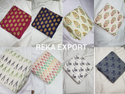 Cotton Flax Printed Fabric