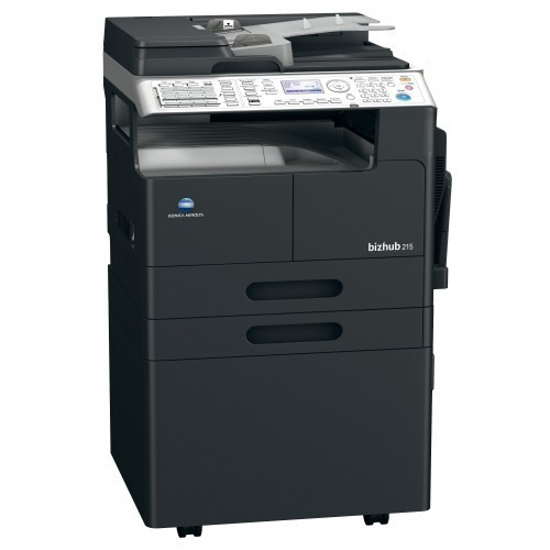 20 PPM Konica Minolta Photocopy Machine, Model Number: Bizhub 206, Memory Size: 128 MB