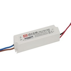 Meanwell Black LED Driver, Supply Voltage: 300 VAC