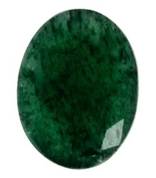 Kesar Zems Natural Green Jade (Panna-Buddh) Gemstone