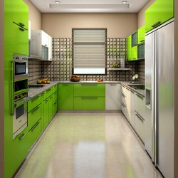 U Shape Modern Kitchen